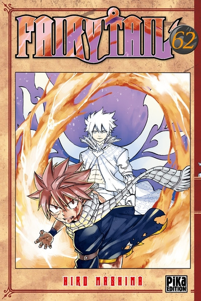 Couverture Fairy tail tome 62