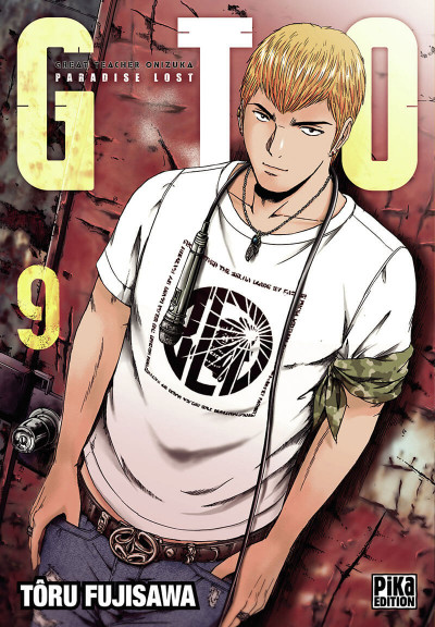Couverture GTO - paradise lost tome 9