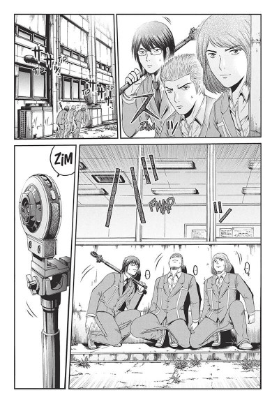 Page 4 GTO - paradise lost tome 9