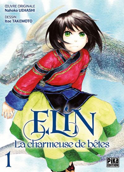 Couverture Elin, la charmeuse de bêtes tome 1