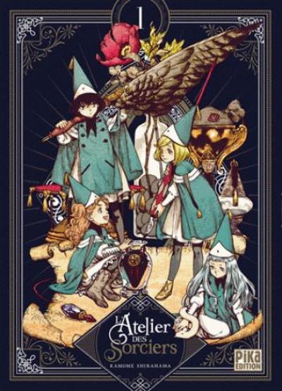 Couverture L'atelier des sorciers - édition collector tome 1