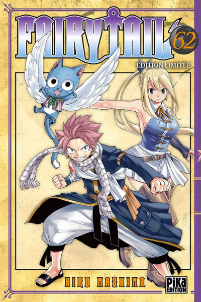 Couverture Fairy tail - édition collector tome 62