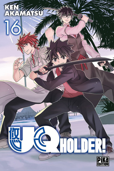 Couverture UQ holder! tome 16