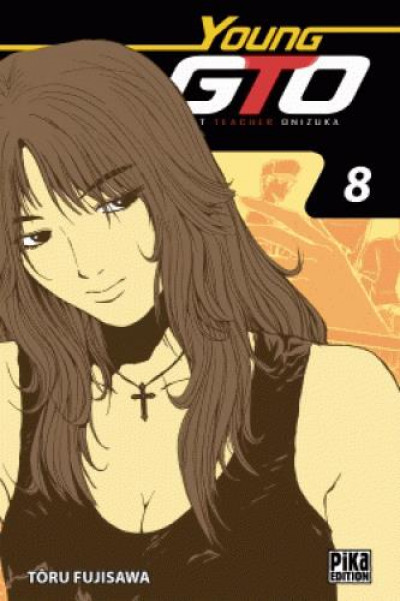 Couverture Young GTO - édition double tome 8