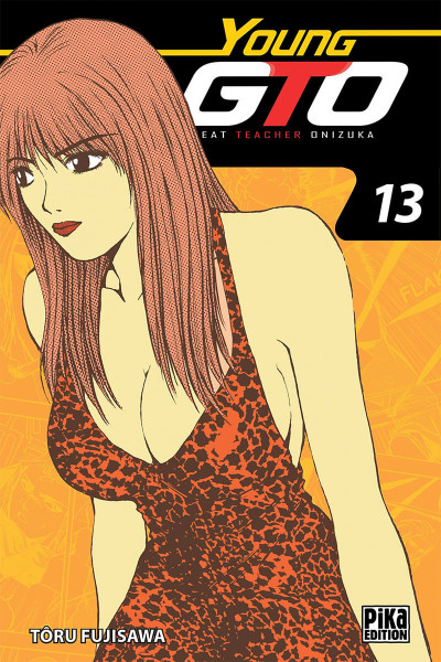 Couverture Young GTO - édition double tome 13