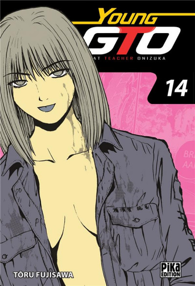 Couverture Young GTO - édition double tome 14