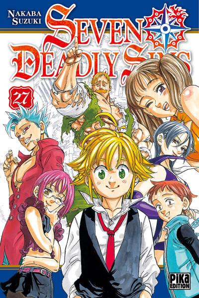 Couverture Seven deadly sins tome 27