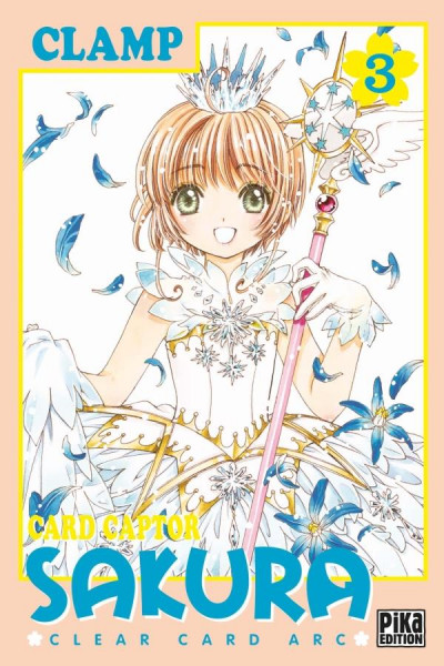 Couverture Card captor Sakura - clear card arc tome 3