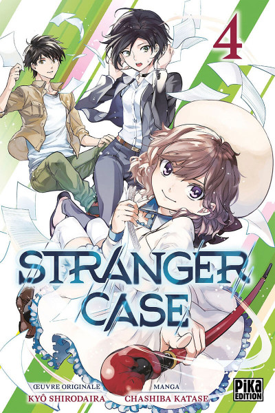 Couverture Stranger case tome 4