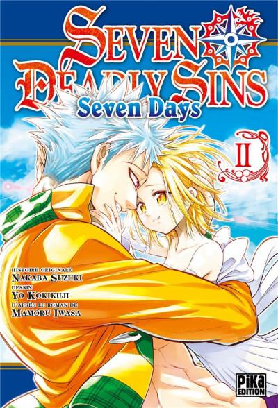 Couverture Seven deadly sins - Seven days tome 2