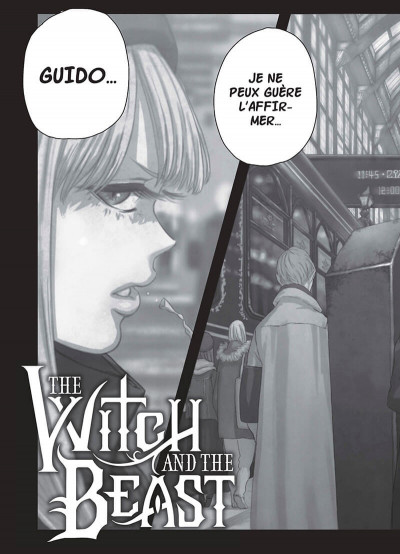 Page 5 The witch and the beast tome 1