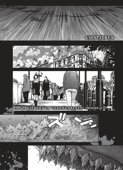 Page 6 The witch and the beast tome 1
