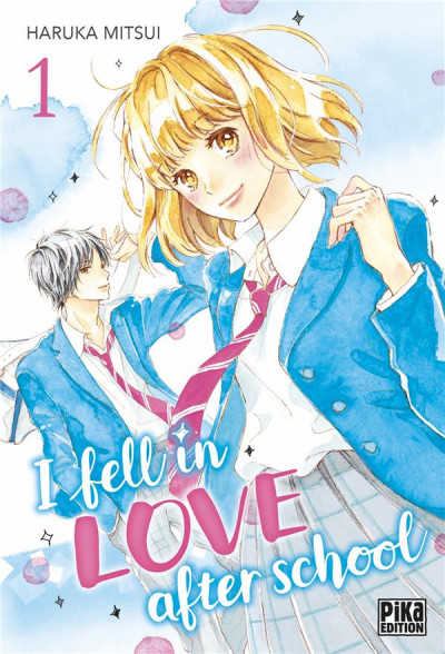 Couverture I fell in love after school tome 1