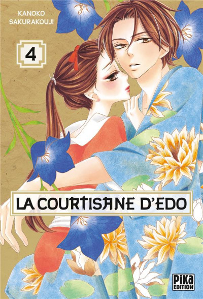 Couverture La courtisane d'Edo tome 4
