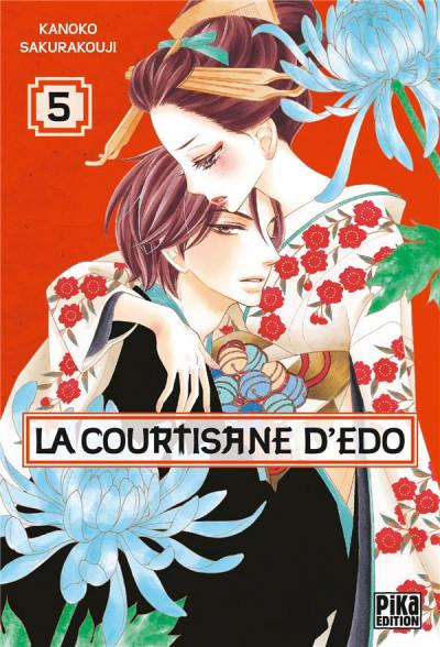 Couverture La courtisane d'Edo tome 5