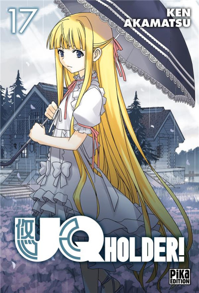 Couverture UQ holder! tome 17