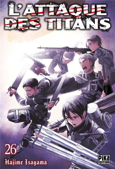 Couverture L'attaque des titans tome 26