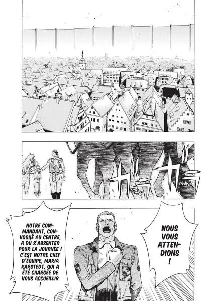 Page 7 L'attaque des titans - before the fall tome 14