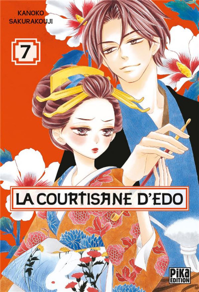 Couverture La courtisane d'Edo tome 7