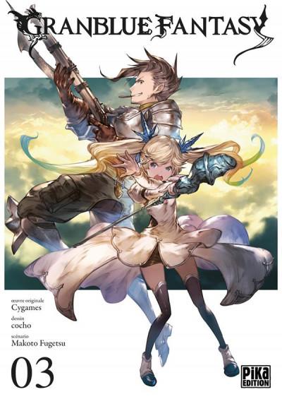 Couverture Granblue fantasy tome 3