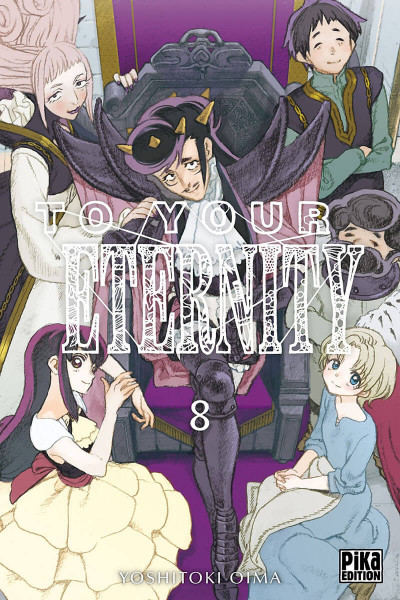 Couverture To your eternity tome 8