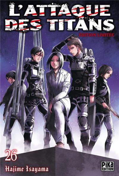 Couverture L'attaque des titans - édition limitée tome 26