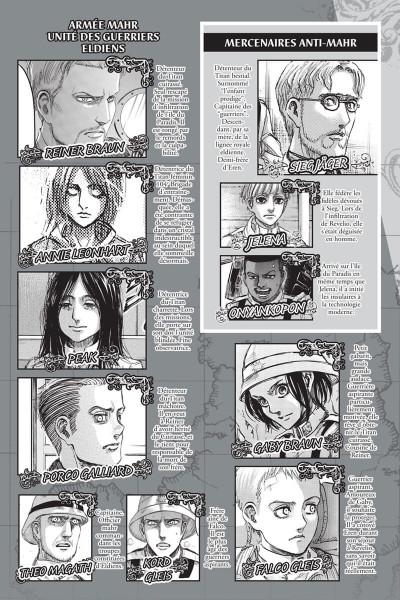 Page 3 L'attaque des titans tome 27