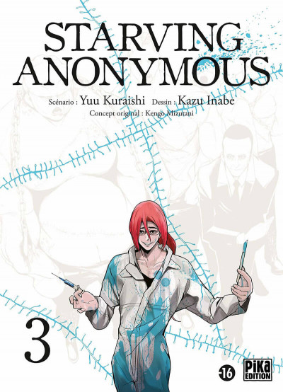 Couverture Starving anonymous tome 3