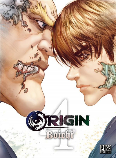 Couverture Origin tome 4