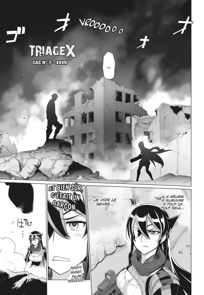 Page 1 Triage X tome 17