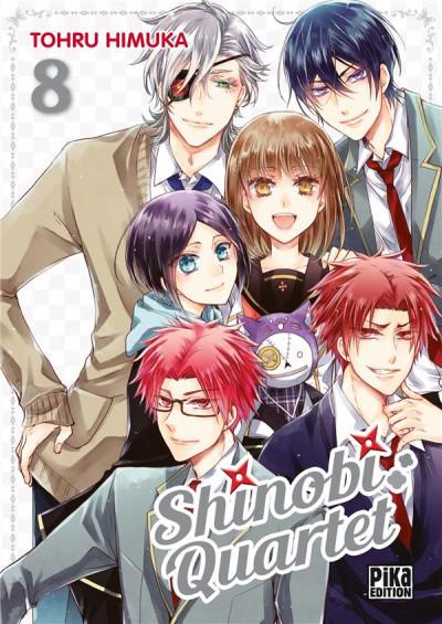Couverture Shinobi quartet tome 8