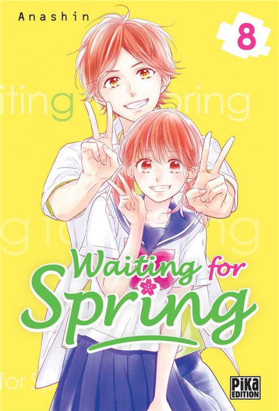 Couverture Waiting for spring tome 8