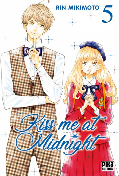 Couverture Kiss me at midnight tome 5