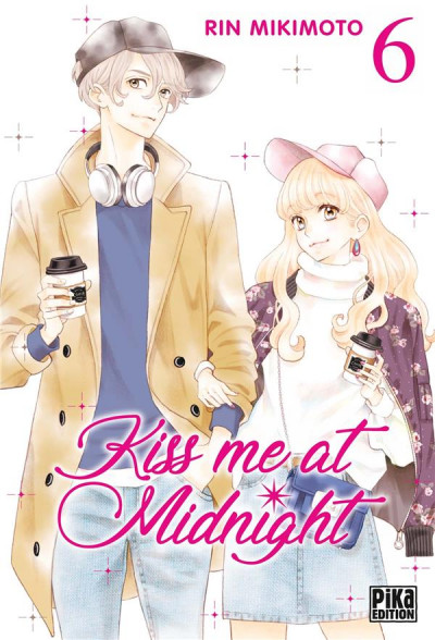 Couverture Kiss me at midnight tome 6
