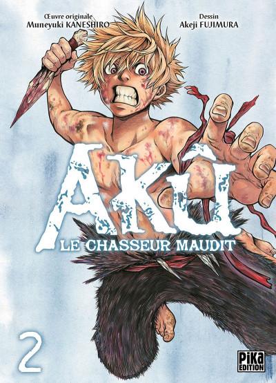 Couverture Akû, le chasseur maudit tome 2