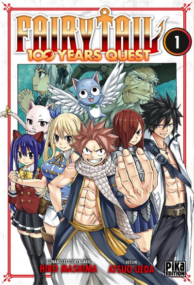 Couverture Fairy tail - 100 years quest tome 1