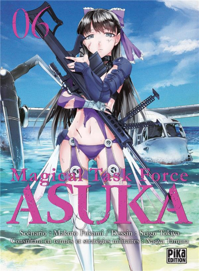Couverture Magical task force asuka tome 6