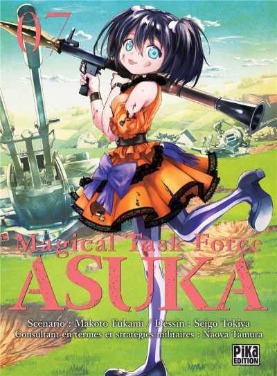 Couverture Magical task force Asuka tome 7