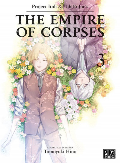 Couverture The empire of corpses tome 3