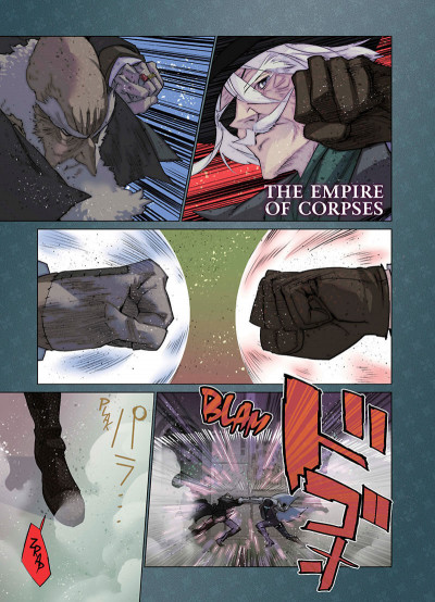 Page 1 The empire of corpses tome 3