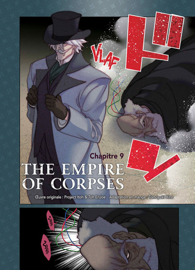 Page 2 The empire of corpses tome 3