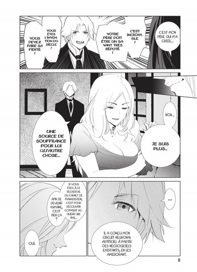 Page 8 The empire of corpses tome 3