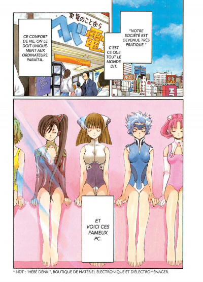 Page 3 Chobits tome 1