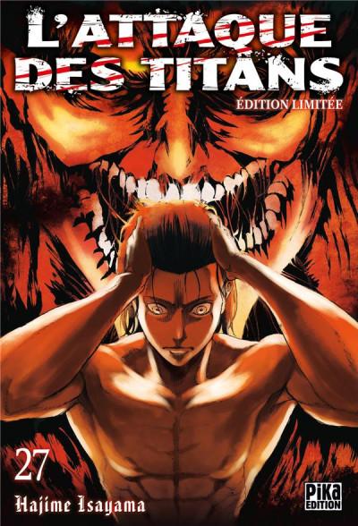 Couverture L'attaque des titans - édition collector tome 27