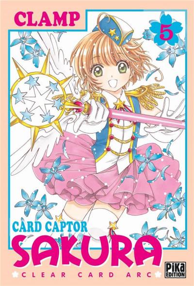 Couverture Card captor Sakura - clear card arc tome 5