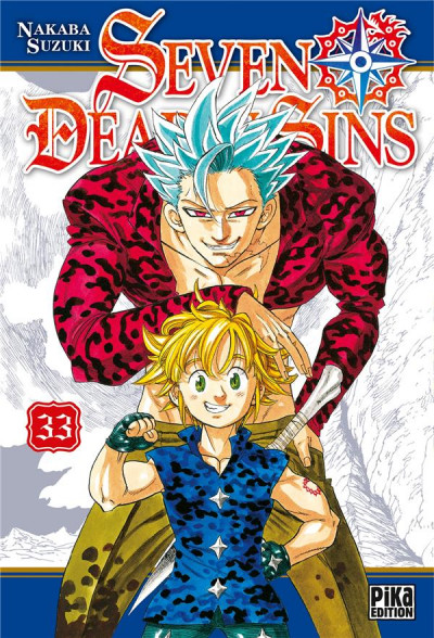 Couverture Seven deadly sins tome 33