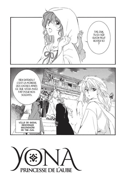Page 7 Yona, princesse de l'aube tome 28