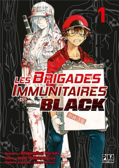Couverture Les brigades immunitaires black tome 1