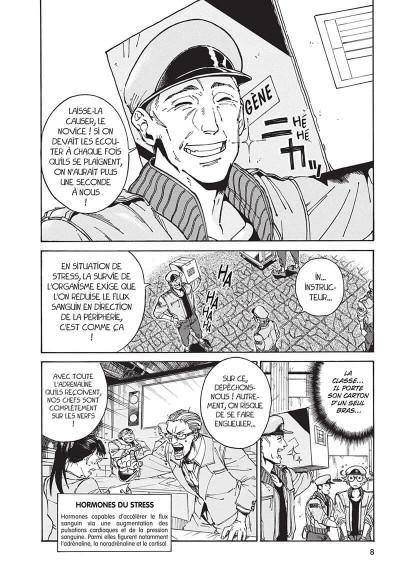 Page 8 Les brigades immunitaires black tome 1