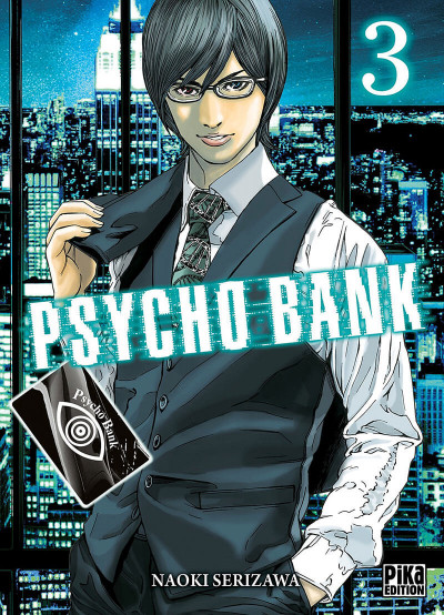 Couverture Psycho bank tome 3
